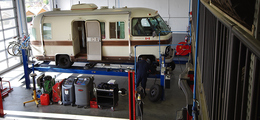 mechanical vintage rv